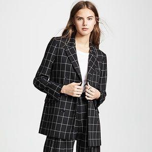 NWT Joie checkered blazer